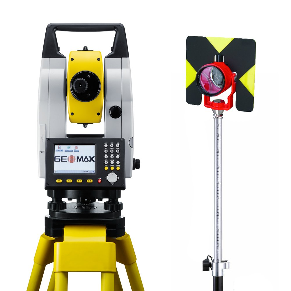 """Zipp20 2"""" R400m Reflectorless Total Station Package - - Amazon.com"""