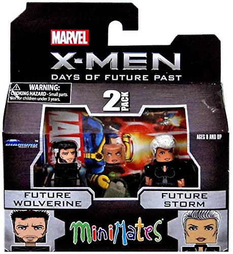 Marvel Minimates Series 58: Future Wolverine with Future Storm - 1