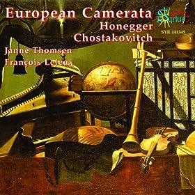 Symphonie de Chambre pour orchestre à cordes, Op. 110a: II. Allegro molto