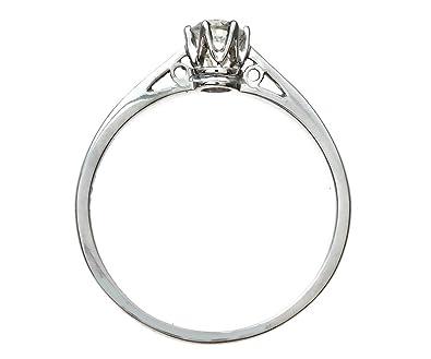 BO Puce Carré Diamant Cz 4 mm Argent Massif 925 0.8Gr