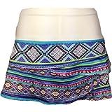 Women`s Mayan Scallop Tennis Skirt Print by Lucky In Love