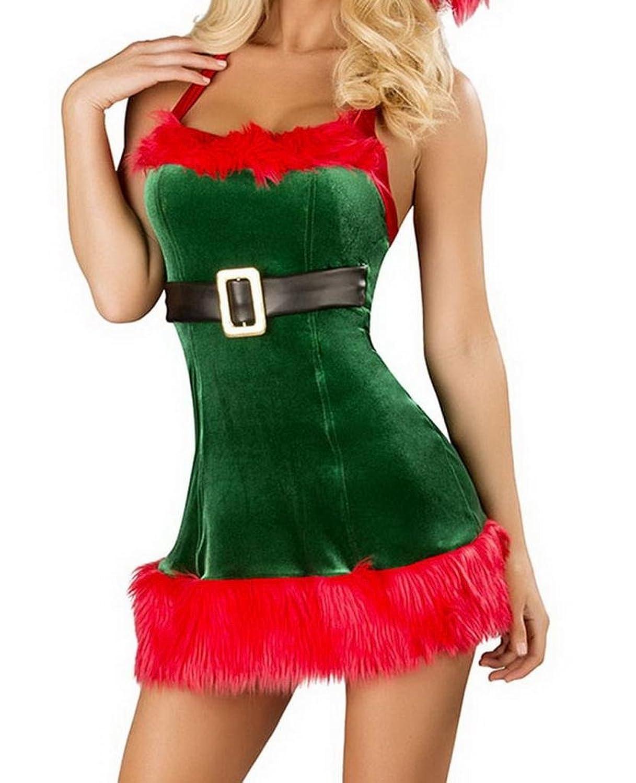 Lukis Damen Weihnachtskostüm Bustier Weihnachtsdessous Weihnachtscosplay bestellen