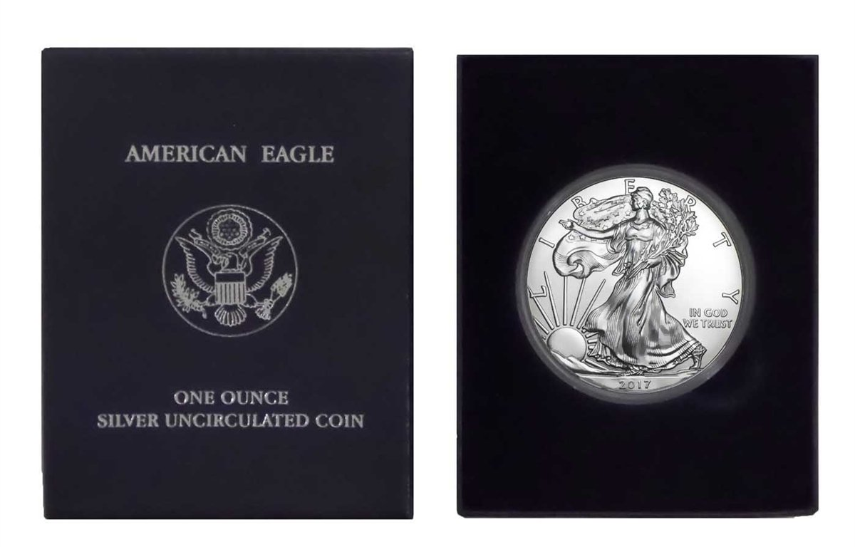 Buy American Silver Eagle Gift Box Now!