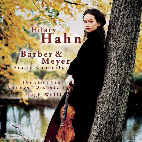 Violin Concertos Barber / Meyer / Hahn / Wolff