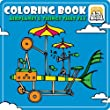 Coloring Book 12: Airplanes and Things that Fly [Download]