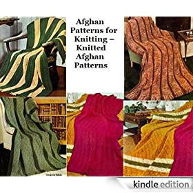 Afghans patrons pour tricot - tricot patrons afghans (French Edition)