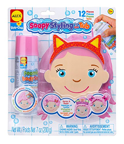 ALEX Toys Rub a Dub Soapy Styling in the Tub - 1