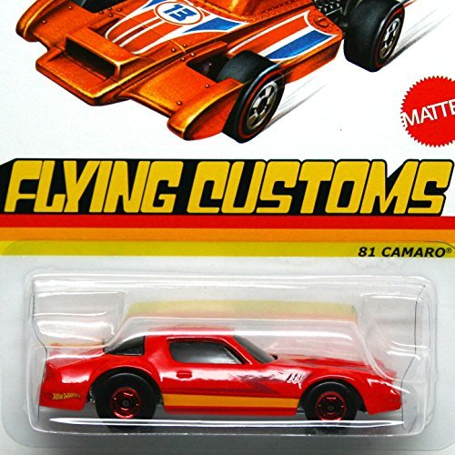 Hot Wheels Flying Customs '81 Camaro Red