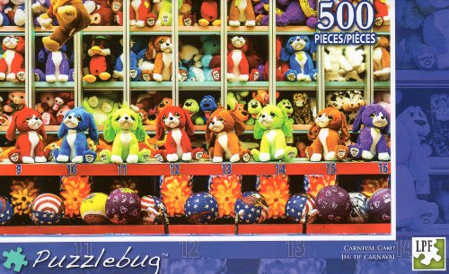 Carnival Game - Puzzlebug - 500 Pc Jigsaw Puzzle - NEW
