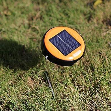OxyLED® CL20 Lampada Luce a LED Ricaricabile ad Energia Solare con Supporto Stand Pieghevole Portatile Compatto per Esterno Campeggio Lavoro Viaggio