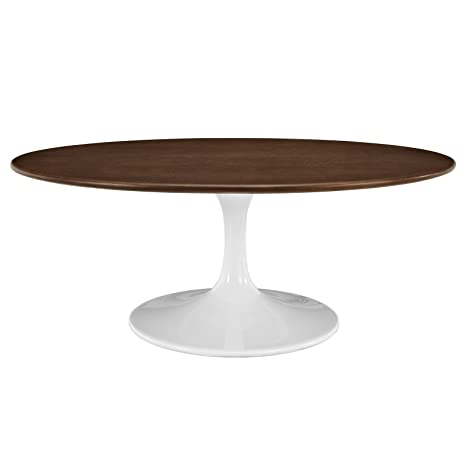 "Lippa 42"" Walnut Coffee Table"