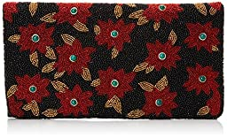Mary Frances Holiday Clutch, Multi, One Size