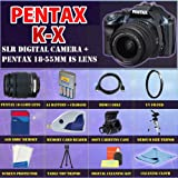 Pentax K-x Digital SLR (Blue) with Pentax 18-55mm