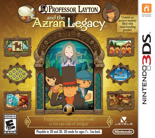 Professor Layton and the Azran Legacy - Nintendo 3DS Deals