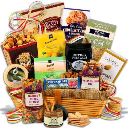 Snack Gift Basket – Premium