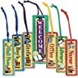 Teacher Created Resources 9877ME Plastic wrapped hall passes on nylon cords, pack of 6