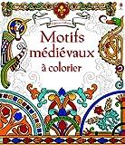 Motifs m�di�vaux � colorier