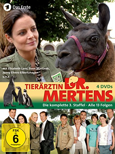 Tierärztin Dr. Mertens - Die komplette 3. Staffel [4 DVDs]