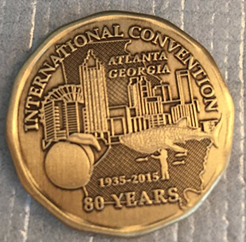 Alcoholics Anonymous (AA) 2015 International Convention Sober Anniversary / Recovery / Medallion / Coin / Chip