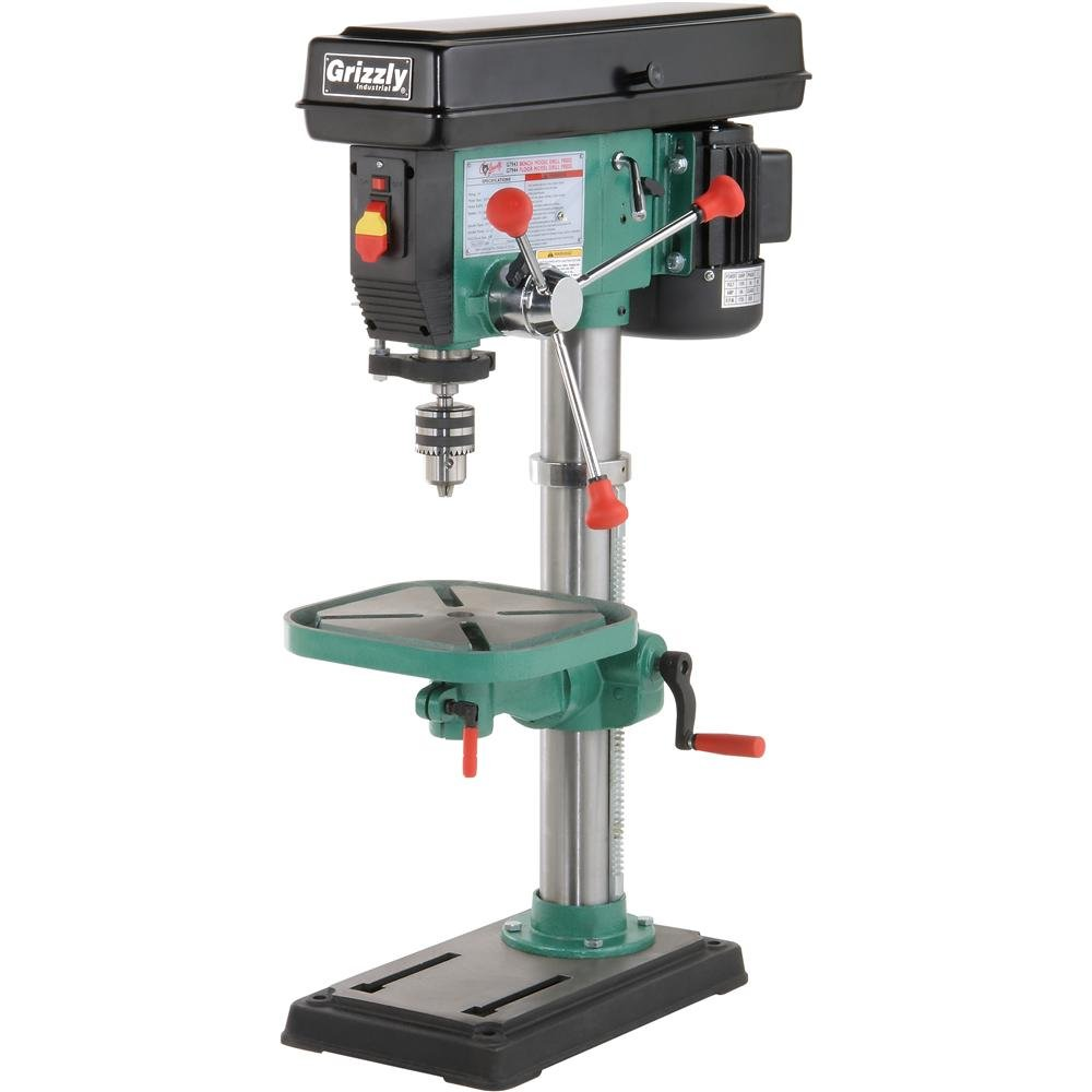 Grizzly G7943 12 Speed Heavy Duty Bench Top Drill Press