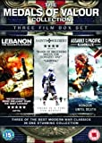 The Medals of Valour Collection - 3 film boxset (Lebanon, Saints & Soldiers, Assault on the Pacific: Kamikaze) [DVD]
