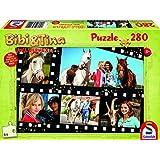 Schmidt Spiele  Puzzle zum Film 2, Voll verhext, 280 Teile