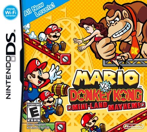 Mario vs. Donkey Kong Mini-Land Mayhem!  (Nintendo DS)