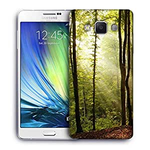 Snoogg Blossom Forest Printed Protective Phone Back Case Cover For Samsung Galaxy A7