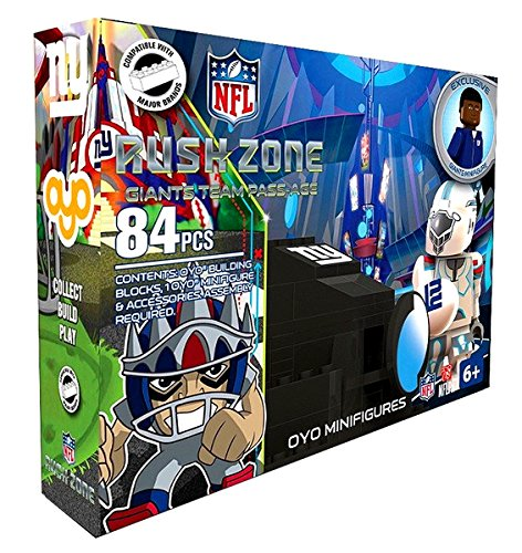Nick Toons, Oyo, Rush Zone, NFL New York Giants Team Pass-Age Set - 1