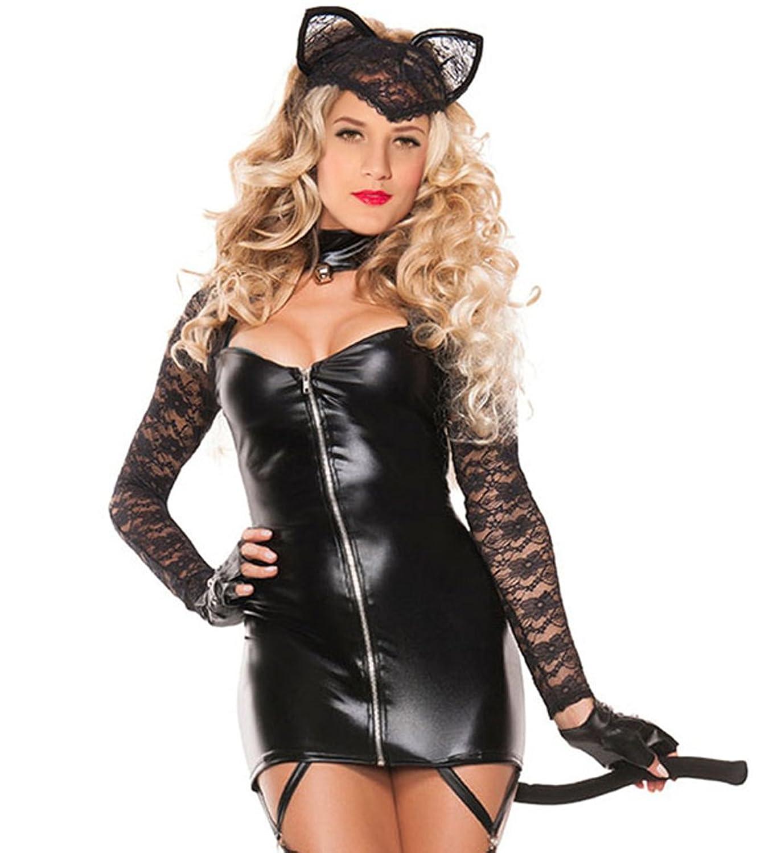 Lukis Damen Bustier Kostüm Etuikleid Dessous Halloween kaufen