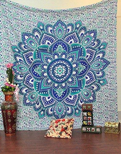 Wall decor hippie : Jaipurhandloom christmas gift big mandala hippie tapestry