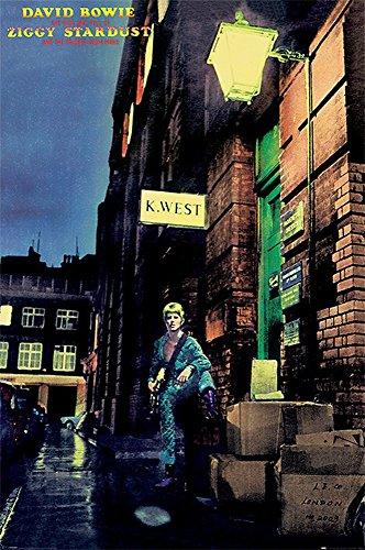 Poster David Bowie Ziggy Stardust + accessori