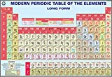 Modern Periodic Table of The Elements Chart (100x70cm)