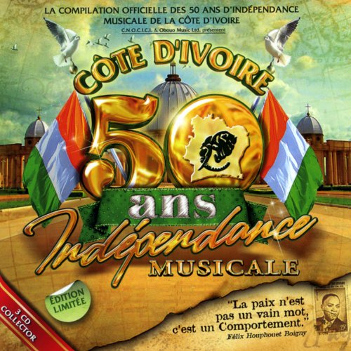 50 ans d'indépendance musicale de la Côte d'Ivoire - Digipack