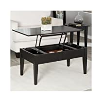 Occasional Cocktail/Coffee Table Black 40 inches