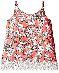 Pumpkin Patch Girls' T-Shirt (S5GL15011_Firewater_10)