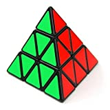 Fusicase New Fashion Style Educational Toy Magic Cube Triangle   Speed Cube Perfect Gift for Kids Children(Black) (Color: Triangle Black)