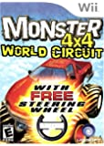 Monster 4X4: World Circuit (with wheel) - Nintendo Wii