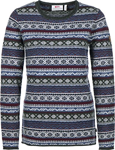 Fjllrven-vik-Folk-Knit-Sweater-Women-Wollpullover
