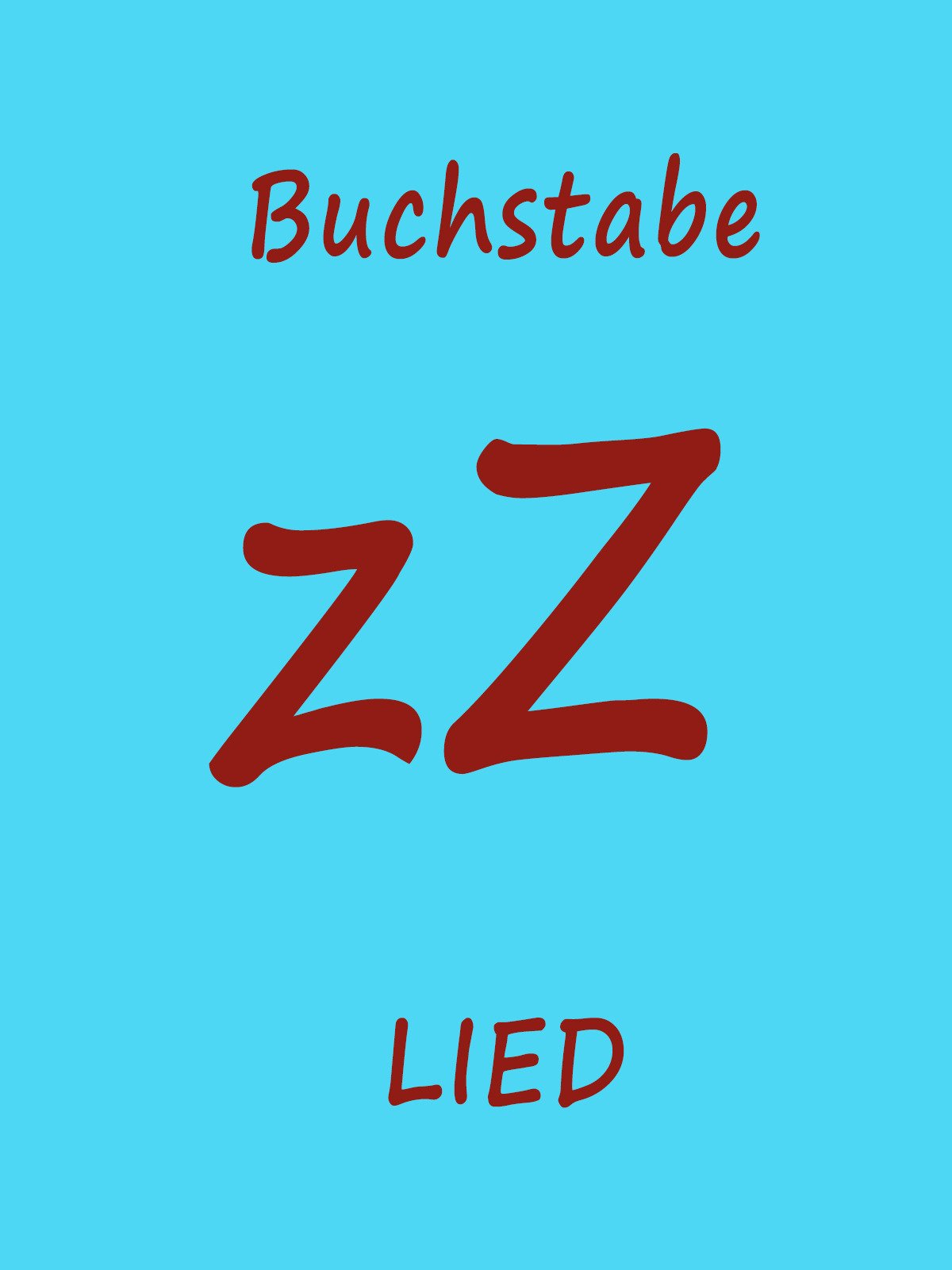 Clip: Buchstabe Z Lied