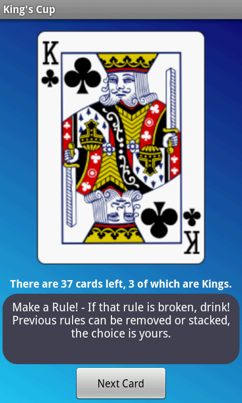 Kings Cup - Ad Free