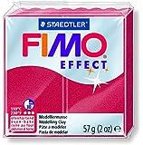 Staedtler Fimoâ effect Pâte à modeler 57 g Rubis
