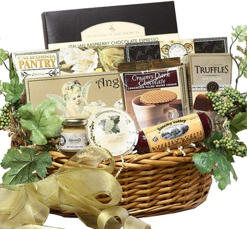 Art of Appreciation Grand Edition Gourmet Food and Snacks Gift Basket - Medium