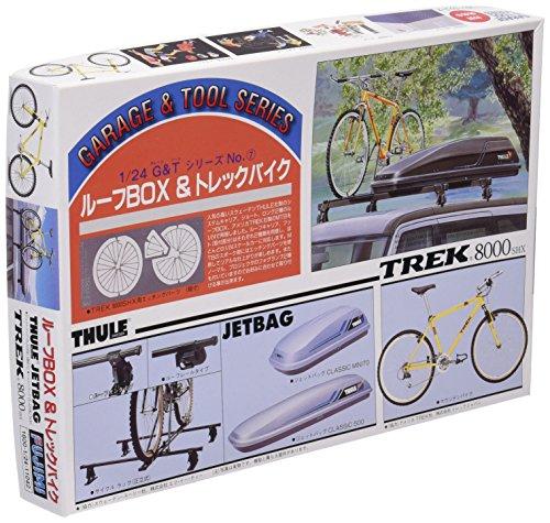 1/24 Roof Box & Trek Bicycle (Model Car) (japan import)