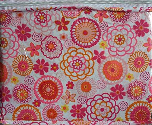 Jillian's Closet 4 Piece Full Sheet Set Orange, Pink and Purple Floral Flowers парфюмированная вода montale orange flowers 20 мл