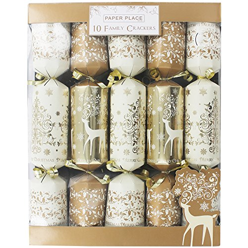 gold-family-christmas-crackers-pack-of-10