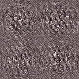 【綿麻/先染生地】ダンガリーな綿麻っ子 4色あります 1m単位で切り売りいたします (ブラウン系)