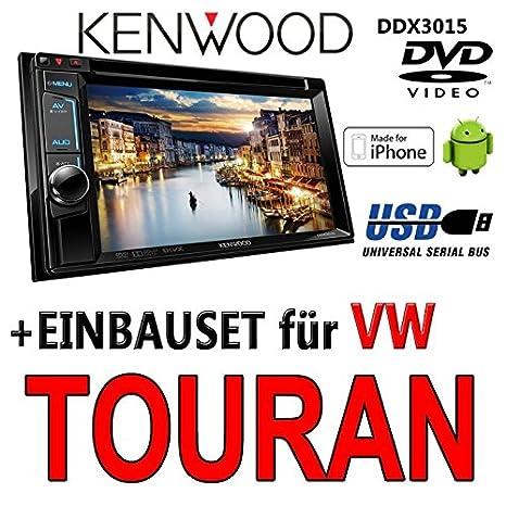 Kenwood pour vW touran ddx 3015-2DIN dVD multimédia uSB encastré