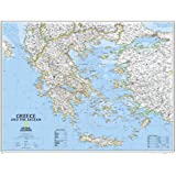 Greece Classic [Tubed] (National Geographic Reference Map)