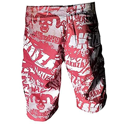 Yakuza ORIGINAL Board Shorts- BSB 645 rot